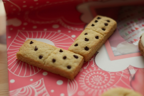 shortbread domino